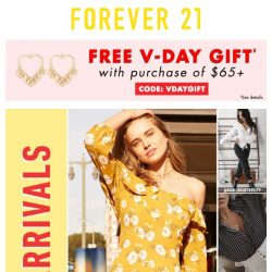 [FOREVER 21] Re: BIG February News ❤