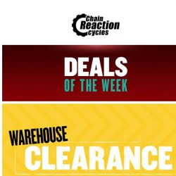 [Chain Reaction Cycles] Deals, Now!