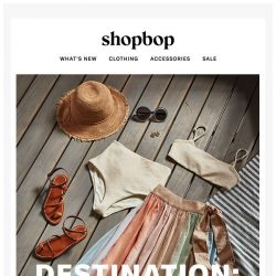 [Shopbop] Because vacation is a state of mind…