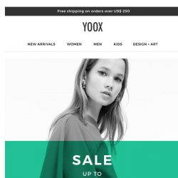 [Yoox] 😆 Sale: up to an EXTRA 70% OFF! Have you seen the newly added styles?