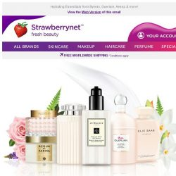 [StrawberryNet] 💃 Scented Body Care to Make You Feel Your SEXIEST