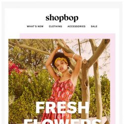 [Shopbop] Spring came early… for your closet