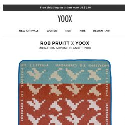 [Yoox] DESIGN+ART: YOOX presents an exclusive collection by American artist Rob Pruitt