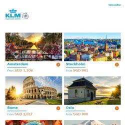 [KLM] ✈ , Dream Deals extended!