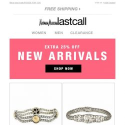 [Last Call] Extra 25% off new arrivals   extra 50%–75% off winter musts & clearance