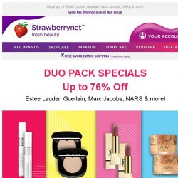 [StrawberryNet] 👯 PAIRS for the WIN: Duo Pack Special Up to 76% Off!