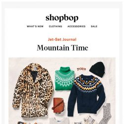 [Shopbop] Our snowy-weather packing list