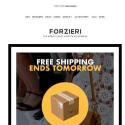[Forzieri] Ends Tomorrow | Free Shipping on Best of Luxury