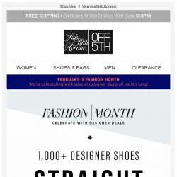 [Saks OFF 5th] OMG, shoes. Up to 60% off Giuseppe Zanotti, Jimmy Choo & more