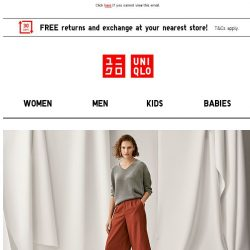 [UNIQLO Singapore] All things NEW!