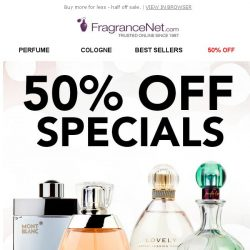 [FragranceNet] 💋 Kiss 50% OFF goodbye…