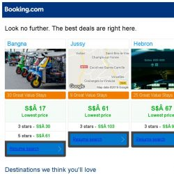 [Booking.com] Prices in Bangna dropped again – act now and save more!