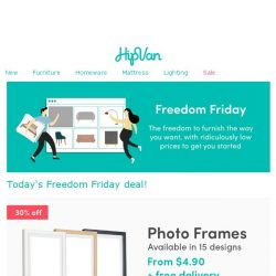[HipVan] 🔸🌟🔸 $4.90 photo frames this Freedom Friday! Today only! 🔸🌟🔸