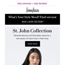 [Neiman Marcus] St. John spring collection