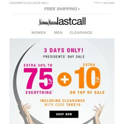 [Last Call] Please read, Bargain! PRIVATE SALE: You qualify for an extra 10% off ON TOP OF SALE