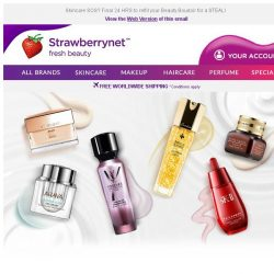 [StrawberryNet] , Last Day You Get Extra 10% Off ALL Skincare!