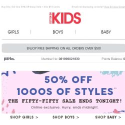[Cotton On] 50% Off 1000s of styles!