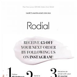 [RODIAL] Fancy £5 Off Your Next Order?