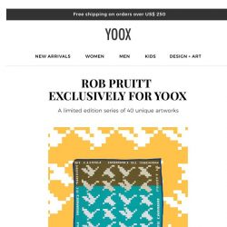 [Yoox] DESIGN+ART: many new arrivals, discover them all
