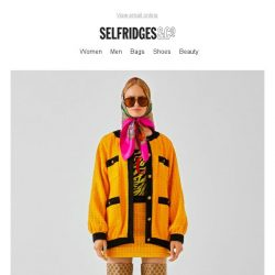 [Selfridges & Co] New Gucci *get in*