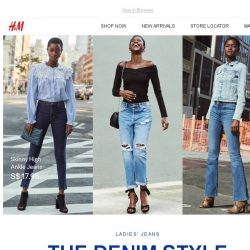 [H&M] The jeans that fit YOU 👖