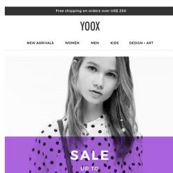 [Yoox] Sale: now up to 80% OFF