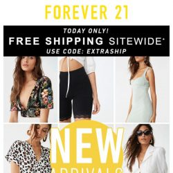 [FOREVER 21] NEW ARRIVALS: Spring dresses, tops, and more + Free shipping!