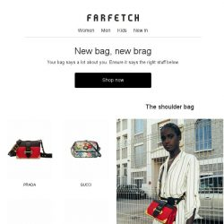 [Farfetch] These bags say boss