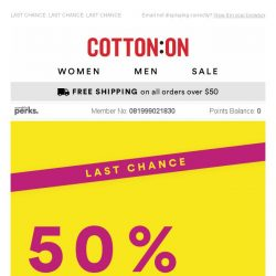 [Cotton On] Don't miss 50% OFF dresses 😍