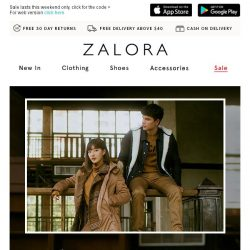 [Zalora] What's that? 25% OFF Everything? YES