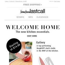 [Last Call] Kitchen essentials: a tasteful selection now @ Last Call online