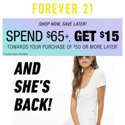 [FOREVER 21] MiSS ME?