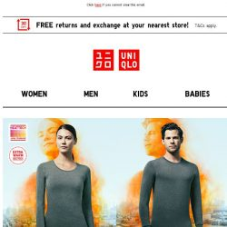 [UNIQLO Singapore] This week's Limited Offers!