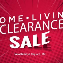 Takashimaya: Home.Living Clearance Sale with Up to 70% OFF King Koil, Kenwood, WMF, Thermos & More