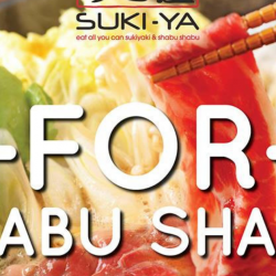 Suki-Ya: Enjoy 1-for-1 Shabu Shabu at Plaza Singapura!