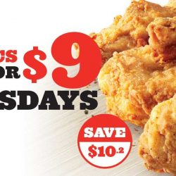 KFC: Chicken Tuesday is Back with 6 Pcs of Chicken for only $9!
