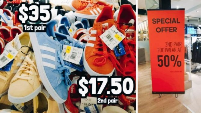 Adidas Outlet Store in Novena Velocity has shoes and