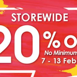 Guardian: 20% OFF Storewide with No Minimum Spend In Stores & Online!