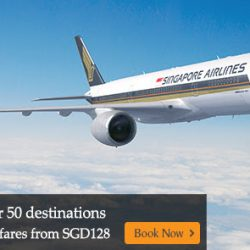 Singapore Airlines: Fly to Over 50 Destinations Worldwide with Special Mastercard Fares from SGD128!