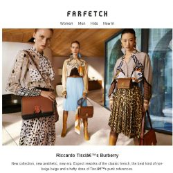 [Farfetch] The new collection you've been waiting for. Shop Burberry