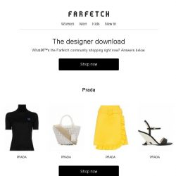 [Farfetch] Our most-popular designers this week