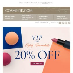 [COSME-DE.com]  ,💥 VIP Offer: 20% off on your order!💥
