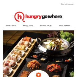 [HungryGoWhere] 50% off Flower Pork Set (U.P $68) - Singtel Exclusive dining treat by 8 Korean BBQ (Shaw Centre)