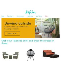[HipVan] 😌Make your balcony a place to unwind😌