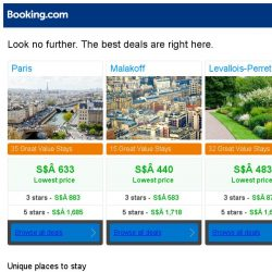 [Booking.com] Prices in Paris are the lowest we've seen in 40 days!