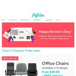 [HipVan] 🌟Happy Women's Day! Must-haves for every girl boss🌟