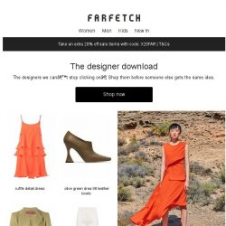 [Farfetch] The hottest designers on Farfetch right now