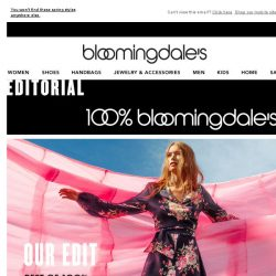 [Bloomingdales] Our must-have exclusives for March