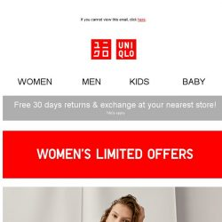 [UNIQLO Singapore] LIMITED OFFERS FOR ALL!