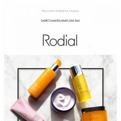 [RODIAL] Treat Yourself To 20% Off Cleansers